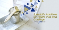 Specialty Additives for Paints, Inks and Coatings